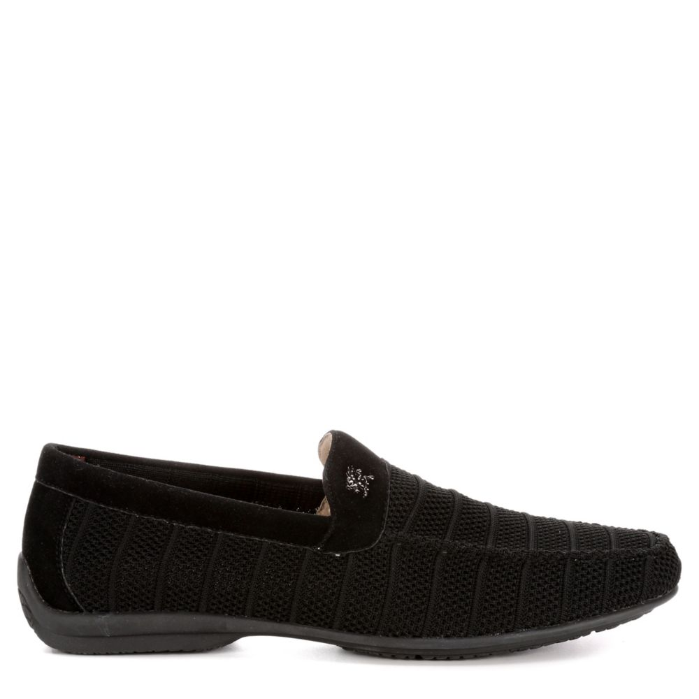 Stacy Adams Mens Ciran Loafers Black USA - GOOFASH - Mens LOAFERS