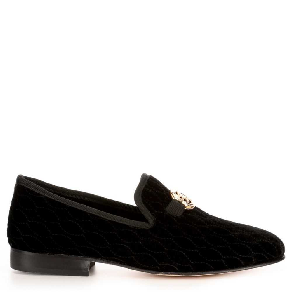 Stacy Adams Mens Valet Loafers Black USA - GOOFASH - Mens LOAFERS