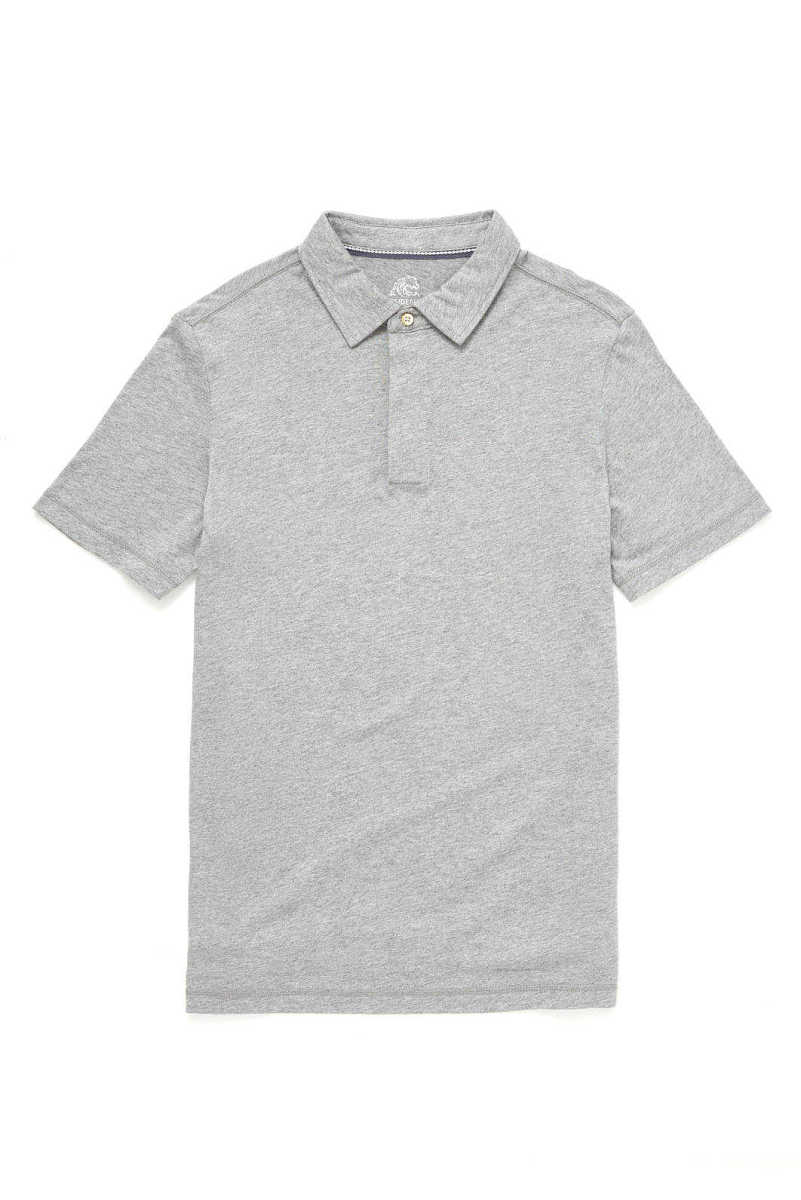 Surfside Supply Heathered Grey Polo Grey M USA - GOOFASH