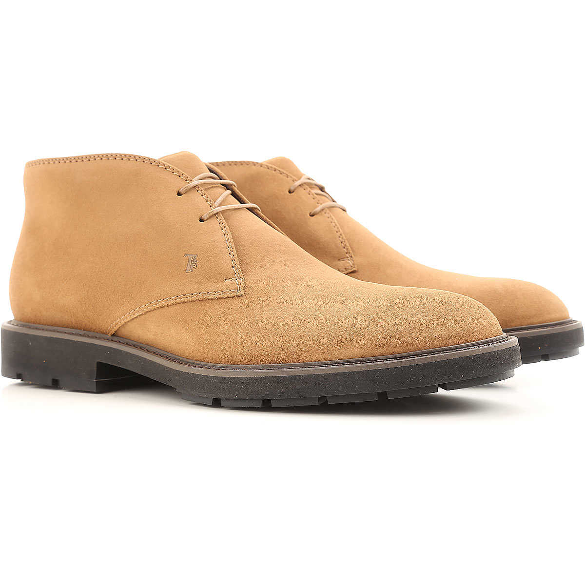 Tods Desert Boots Chukka for Men On Sale Biscuit - GOOFASH