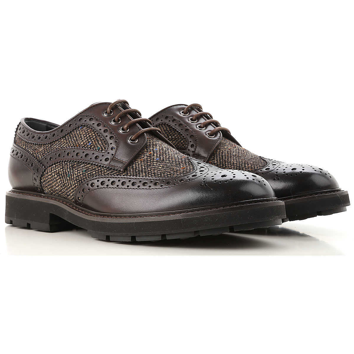 Tods Lace Up Shoes for Men Oxfords Derbies and Brogues On Sale - GOOFASH