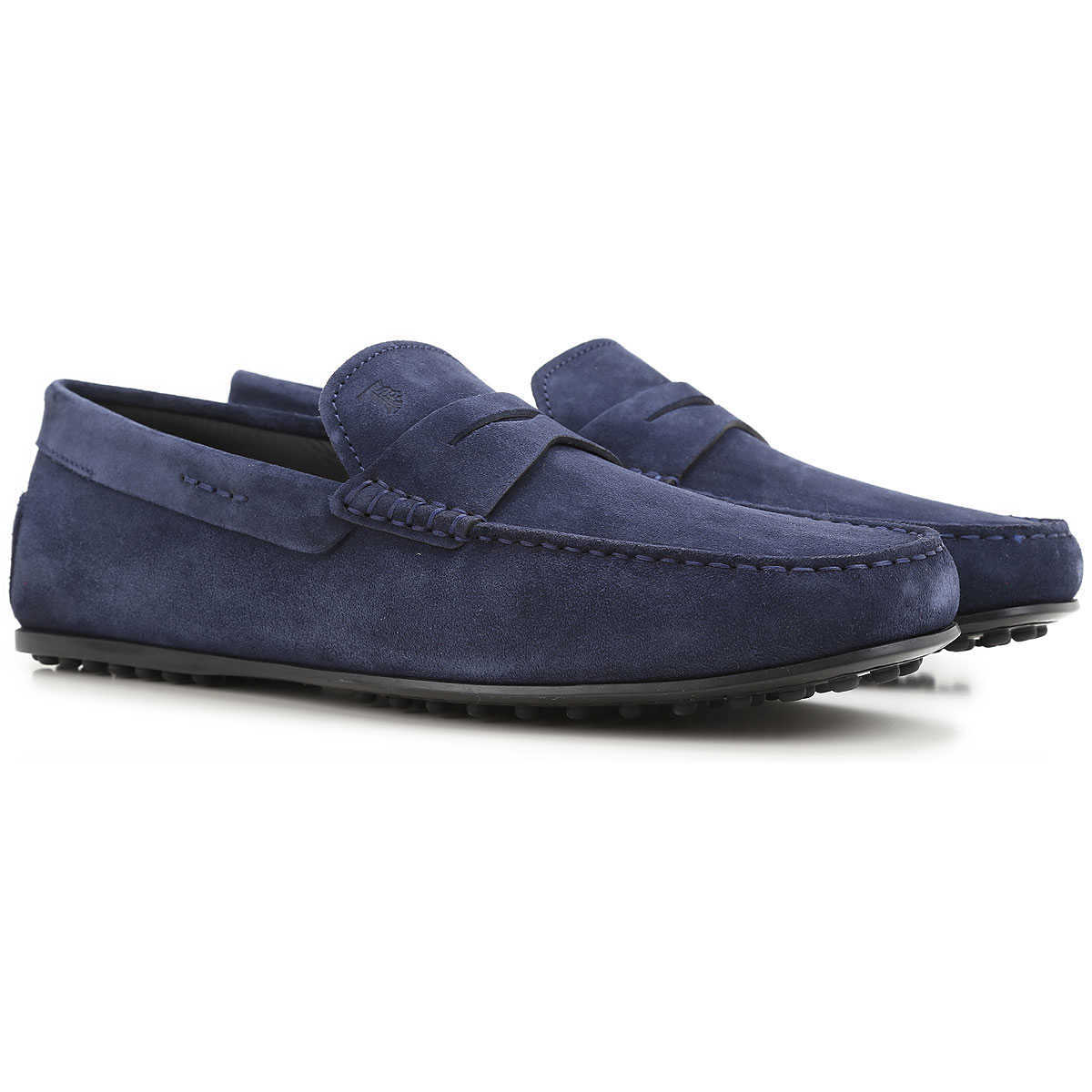 Tods Loafers for Men Blue UK - GOOFASH