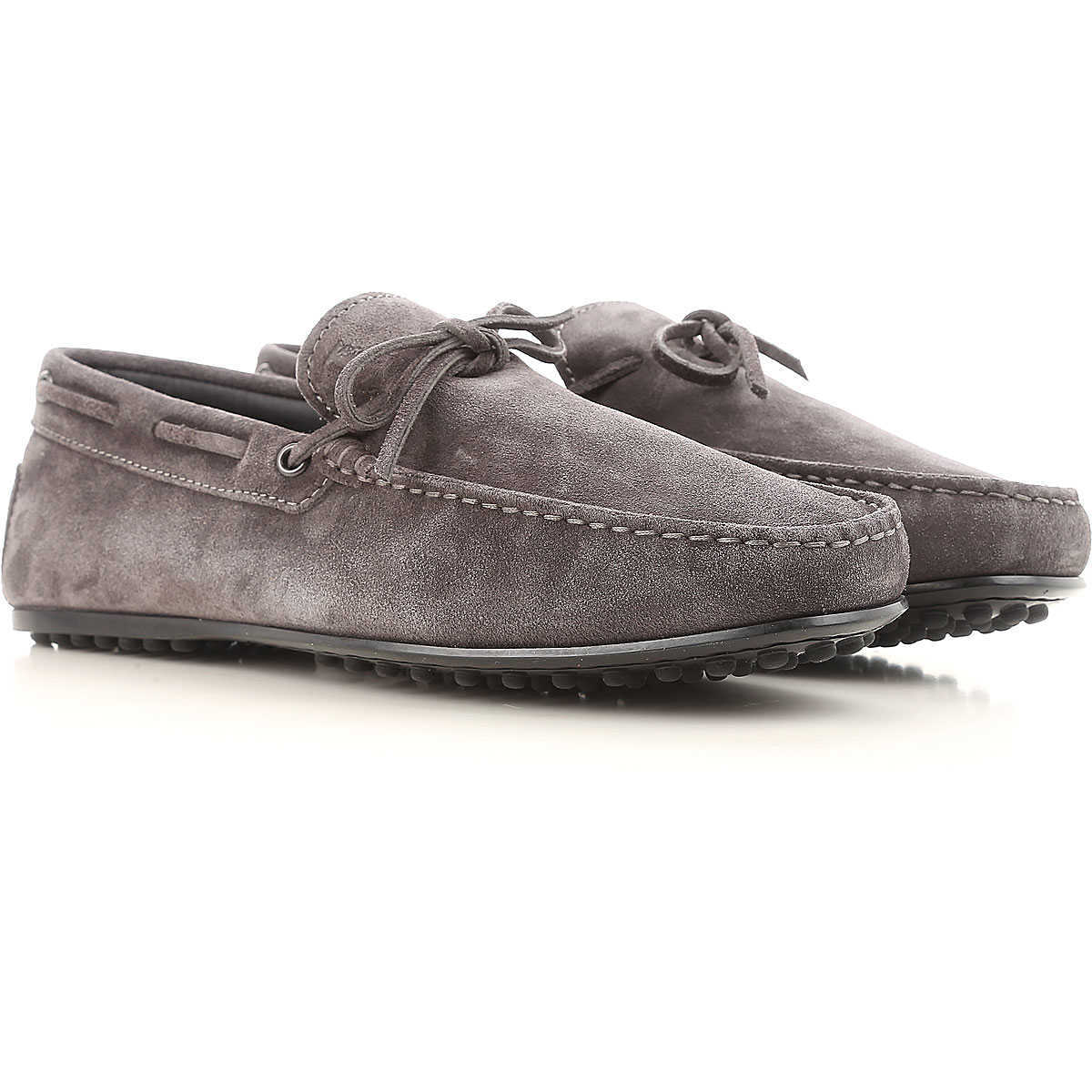 Tods Loafers for Men On Sale Ash Grey UK - GOOFASH