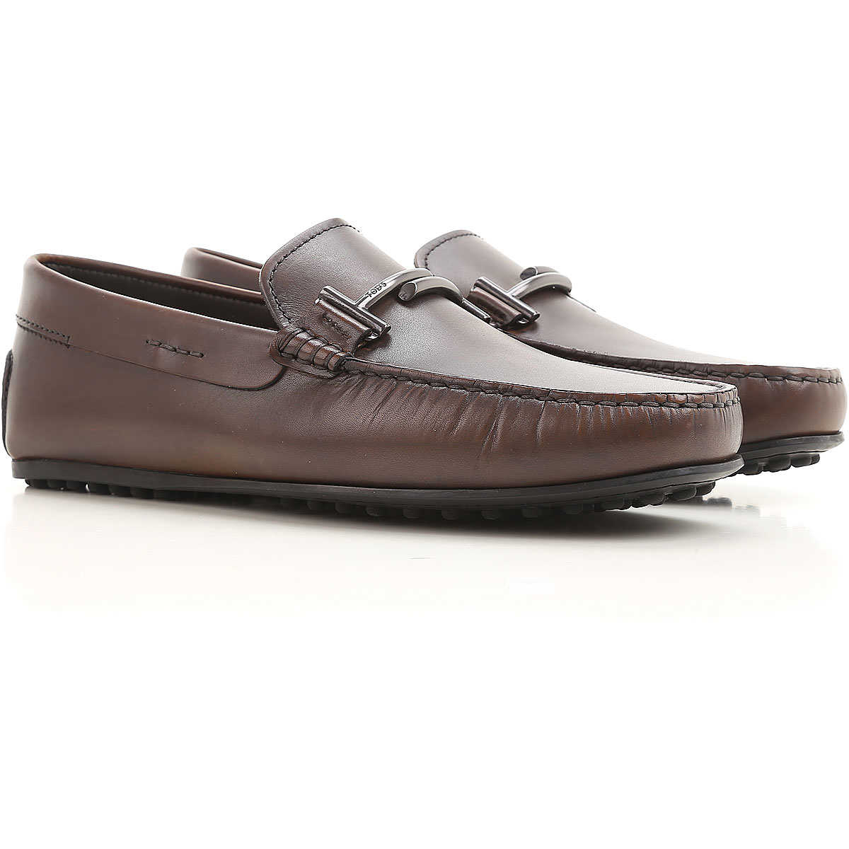 Tods Loafers for Men On Sale Bark brown - GOOFASH