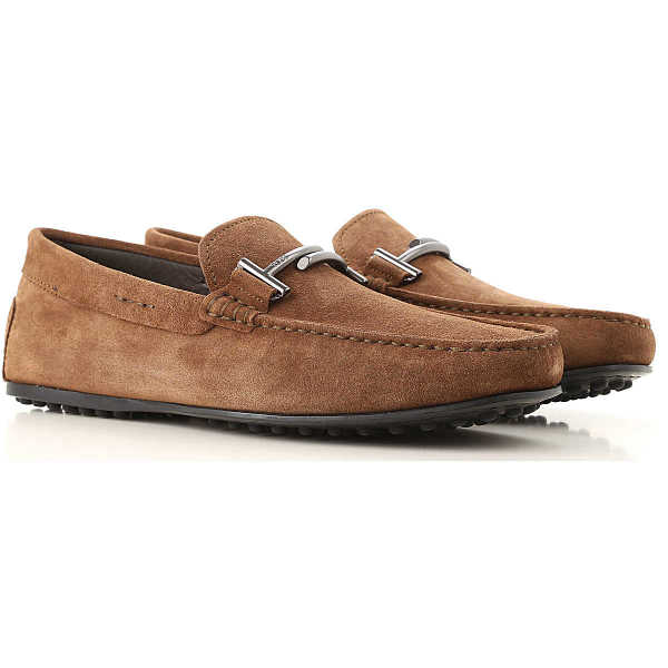 Tods Loafers for Men On Sale Beaver Brown UK - GOOFASH