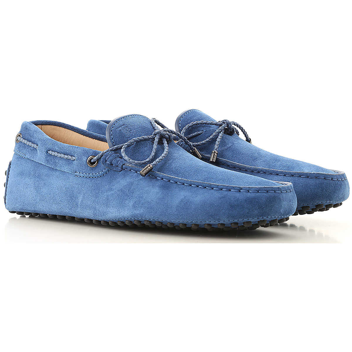 Tods Loafers for Men On Sale Bright Bluette - GOOFASH