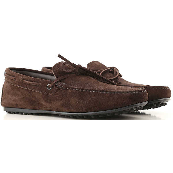 Tods Loafers for Men On Sale Brown UK - GOOFASH