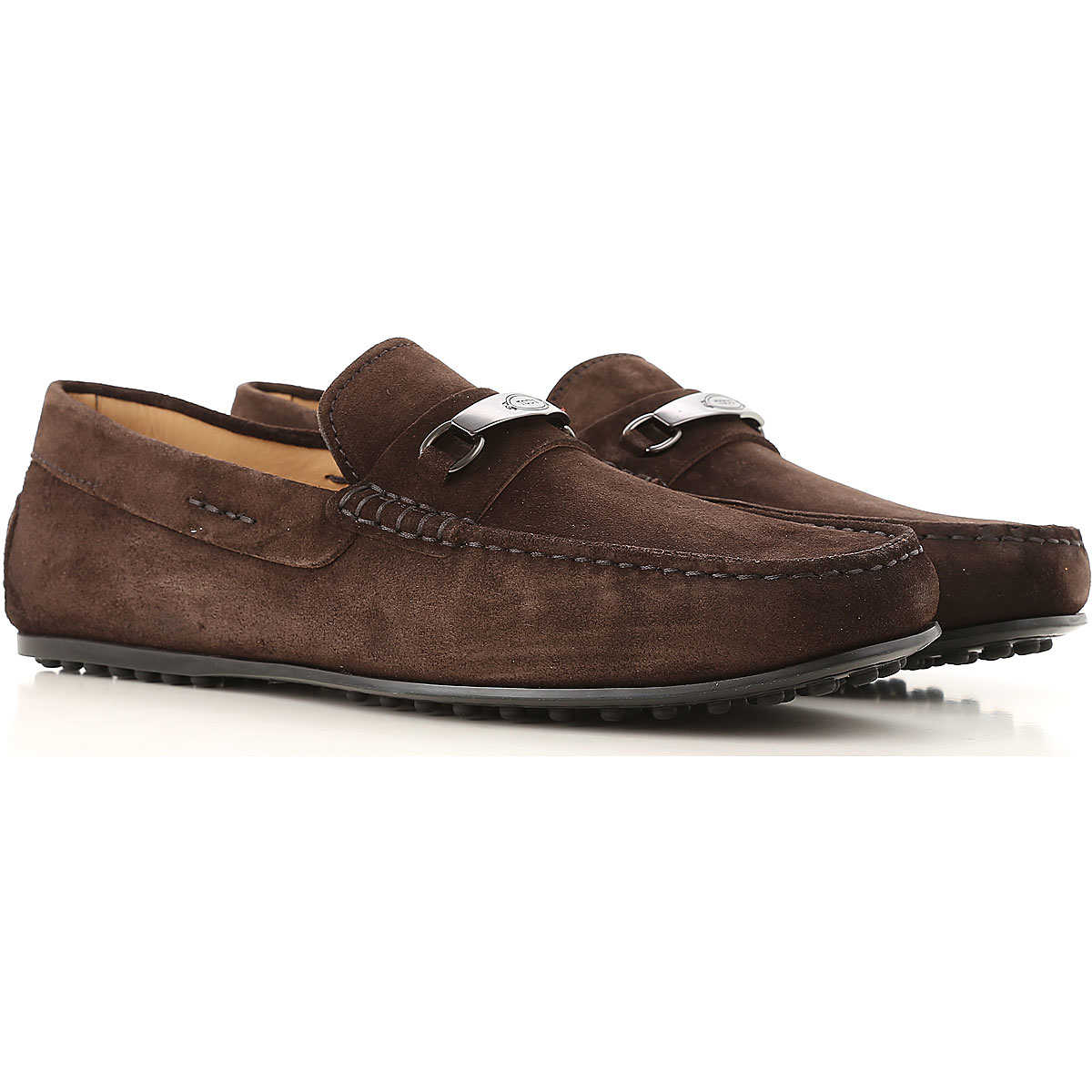 Tods Loafers for Men On Sale Dark Brown - GOOFASH