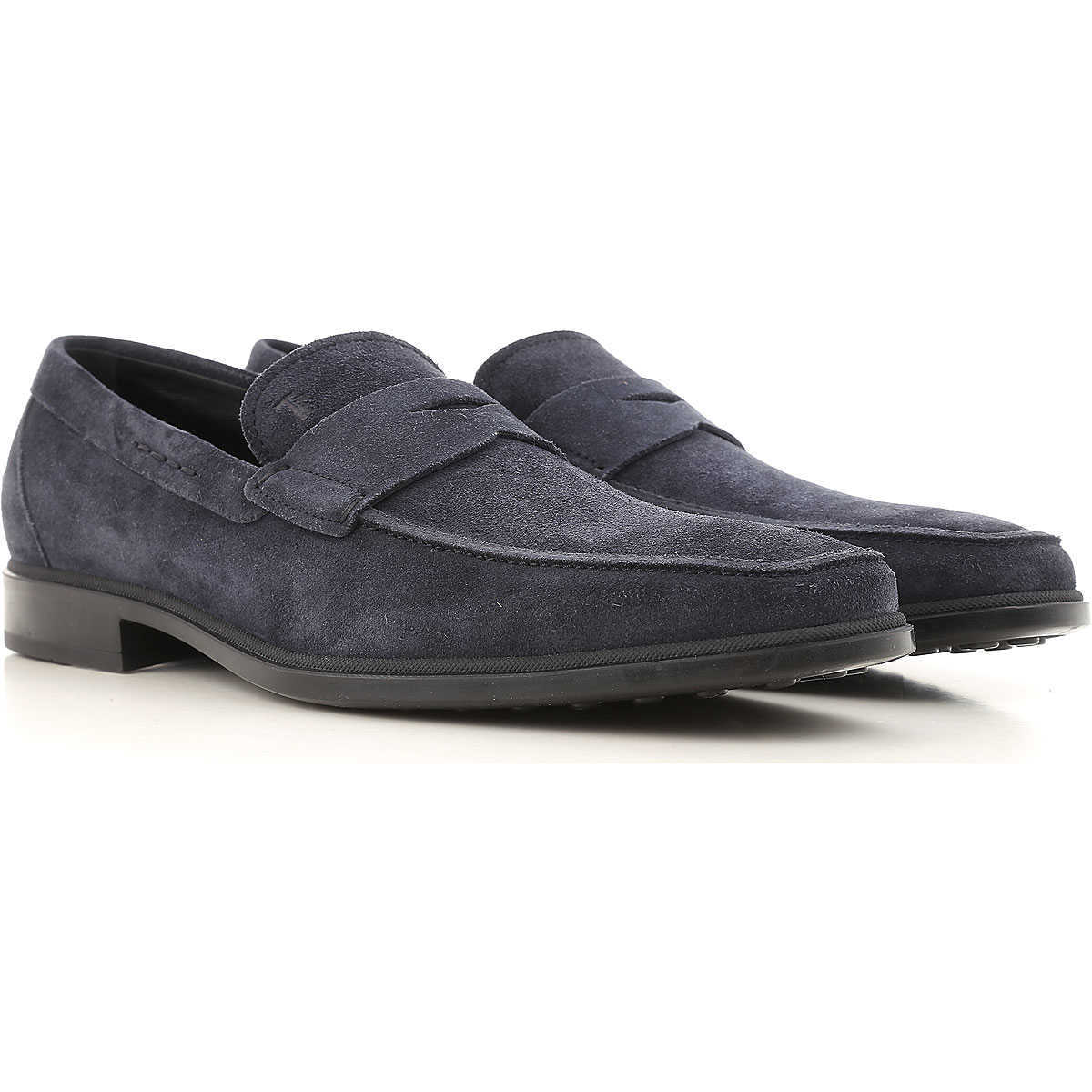 Tods Loafers for Men On Sale Midnight - GOOFASH
