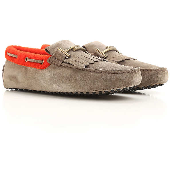 Tods Loafers for Men On Sale Tortoise - GOOFASH