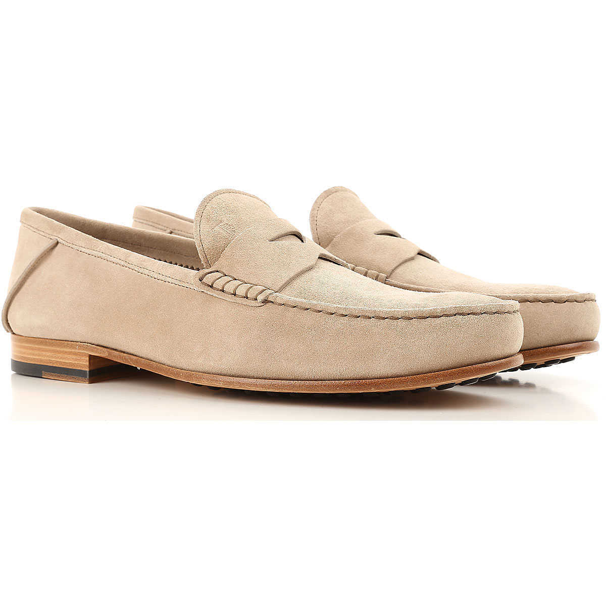 Tods Loafers for Men On Sale in Outlet Natural UK - GOOFASH