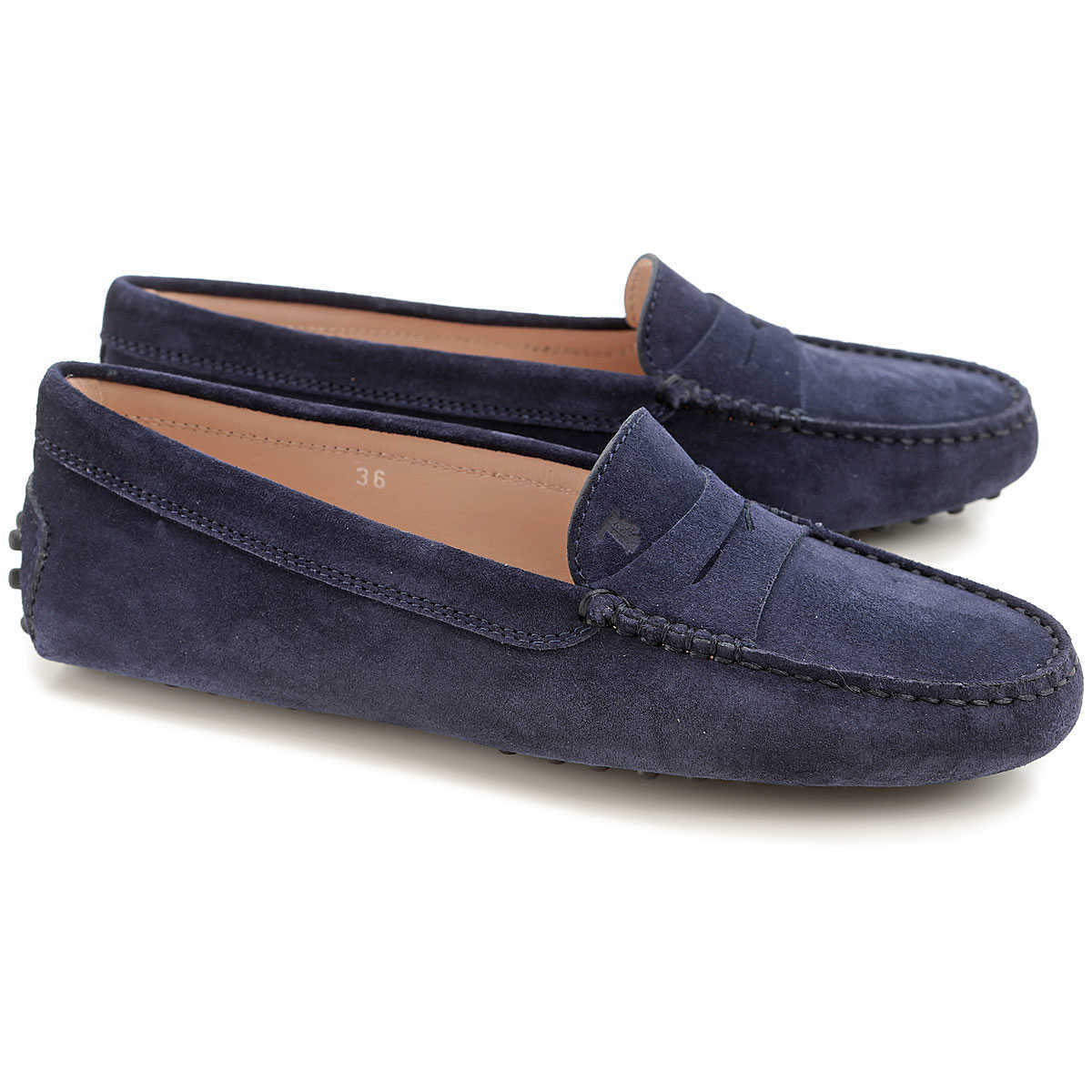 Tods Loafers for Women Dark Galaxy blue - GOOFASH