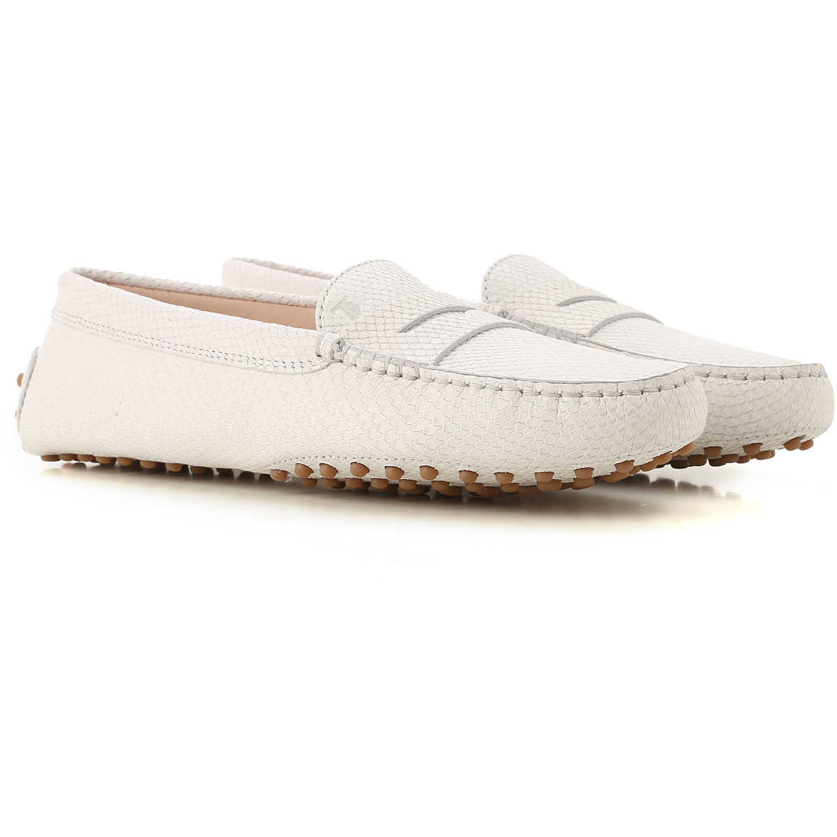 Tods Loafers for Women Leather - GOOFASH