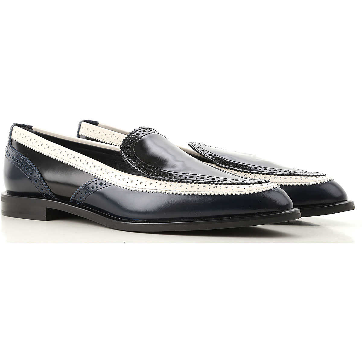 Tods Loafers for Women On Sale Midnight Blue UK - GOOFASH