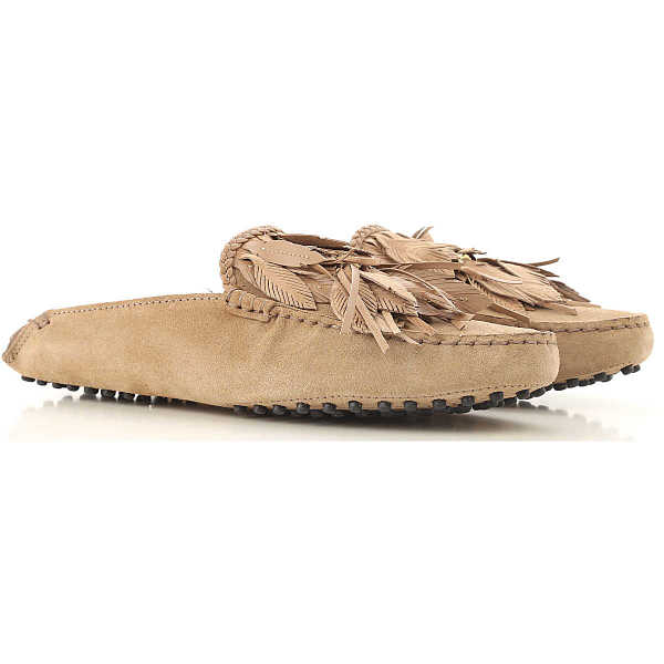 Tods Loafers for Women On Sale Turtledove - GOOFASH
