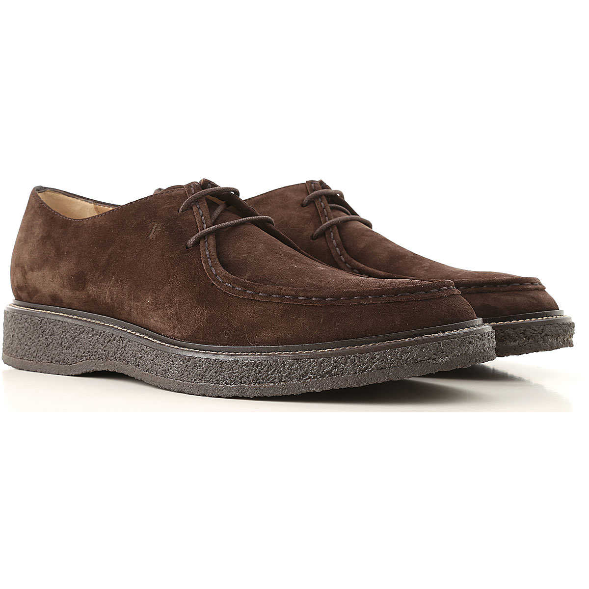 Tods Oxford Shoes for Men On Sale in Outlet Brown - GOOFASH