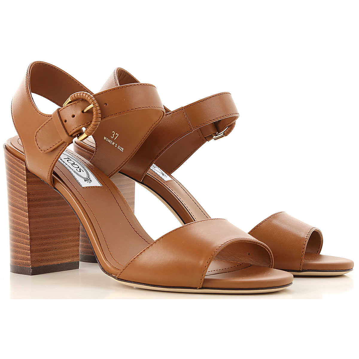 Tods Sandals for Women On Sale Brown UK - GOOFASH