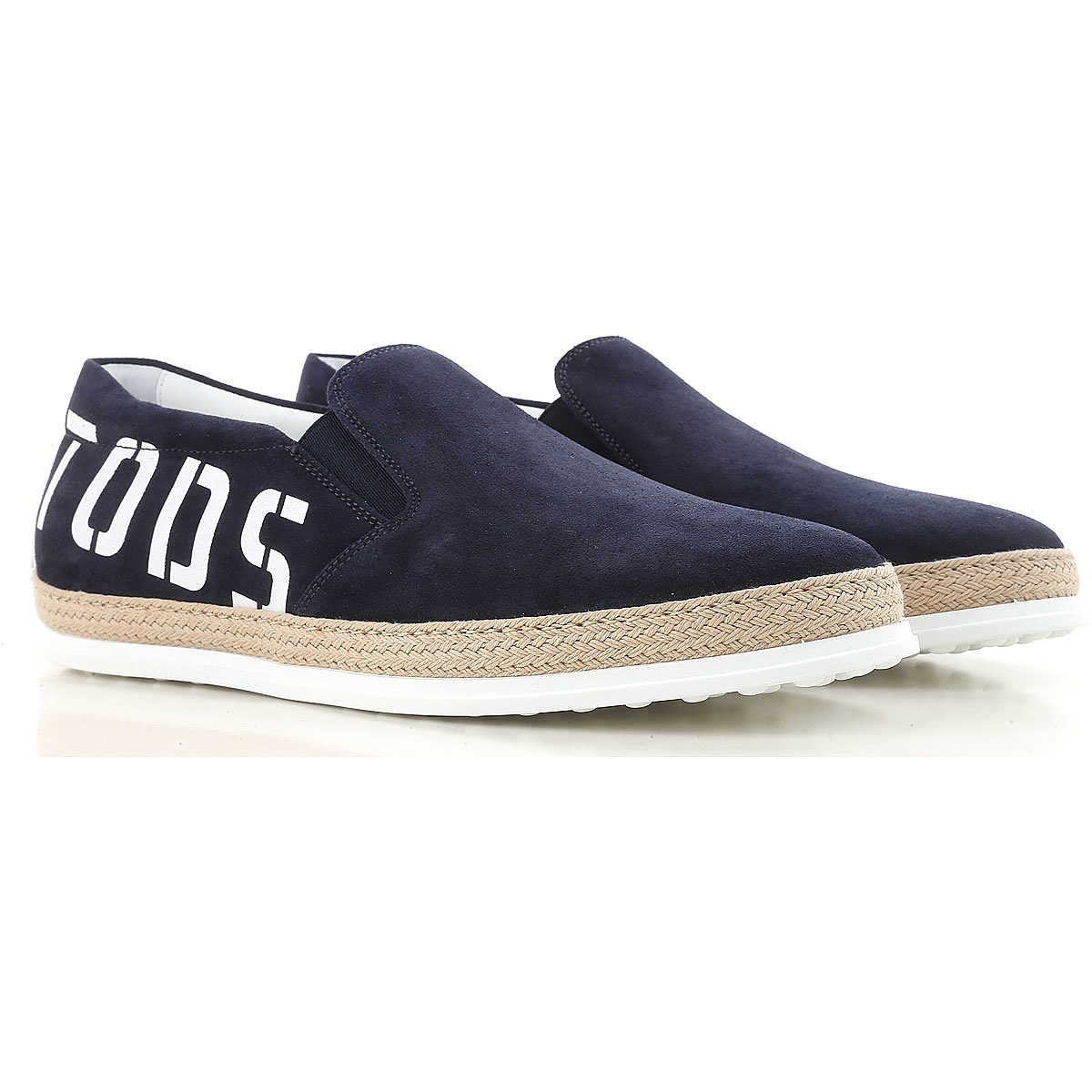 Tods Slip on Sneakers for Men On Sale galaxy blue - GOOFASH