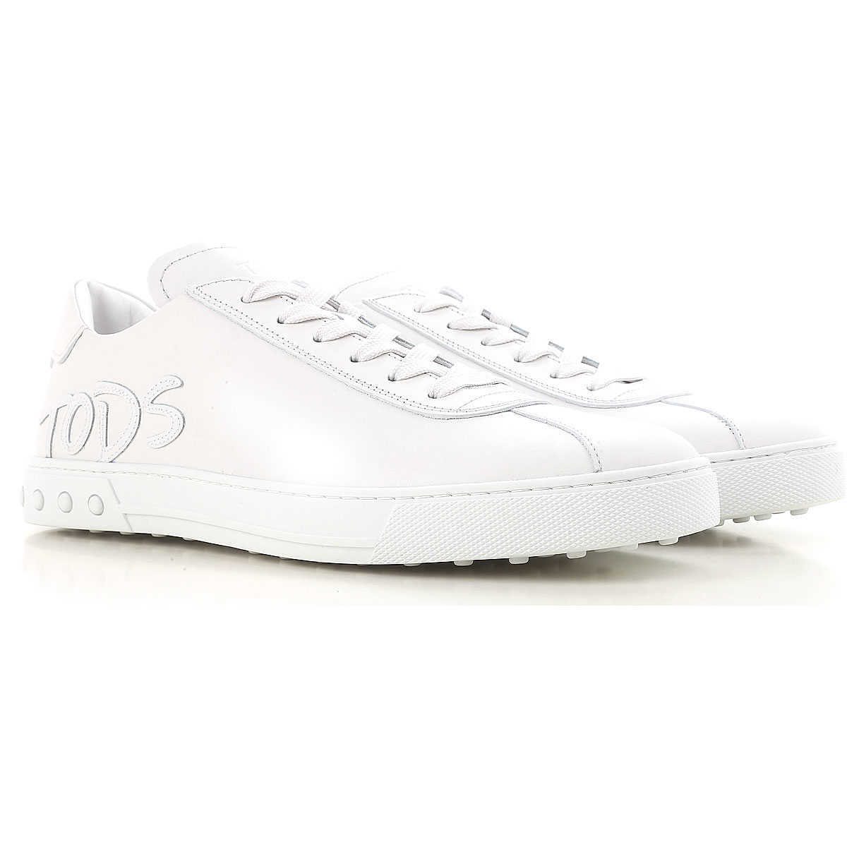 Tods Sneakers for Men On Sale White UK - GOOFASH