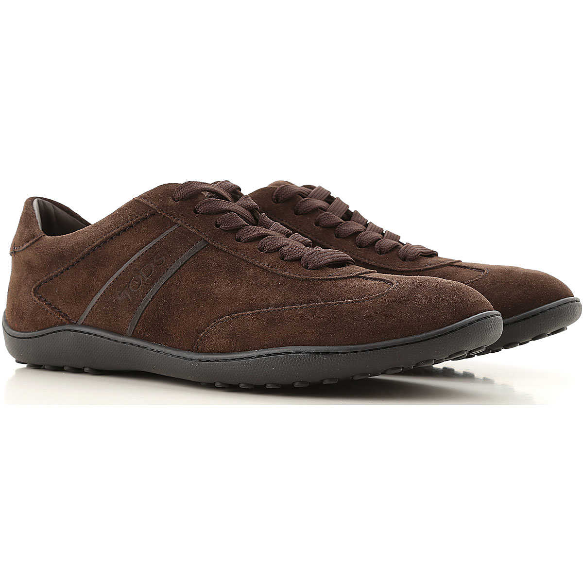 Tods Sneakers for Men On Sale in Outlet Dark Brown - GOOFASH
