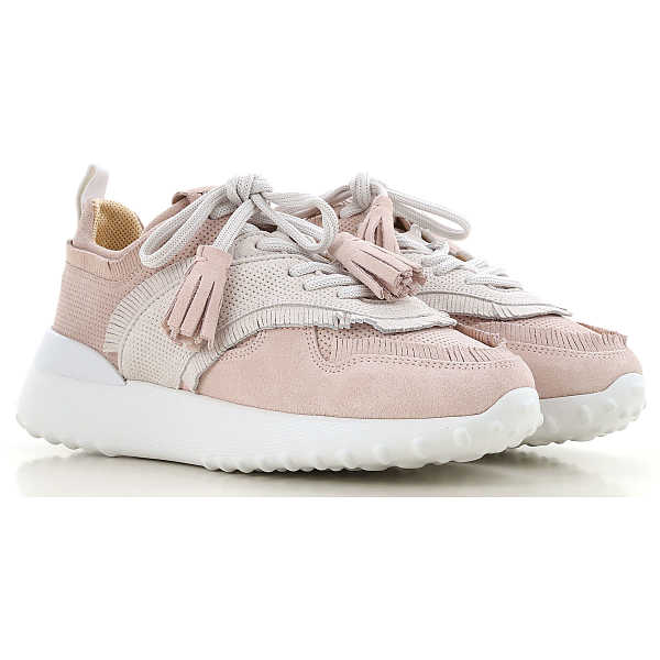 Tods Sneakers for Women Pale Rose UK - GOOFASH