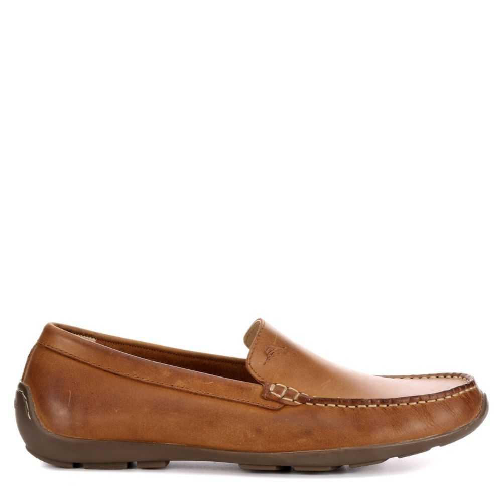 Tommy Bahama Mens Acanto Loafers Tan USA - GOOFASH - Mens LOAFERS