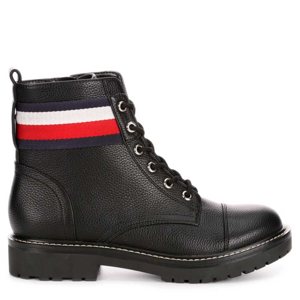 Tommy Hilfiger Womens Lavo2 Boots Black USA - GOOFASH - Womens BOOTS