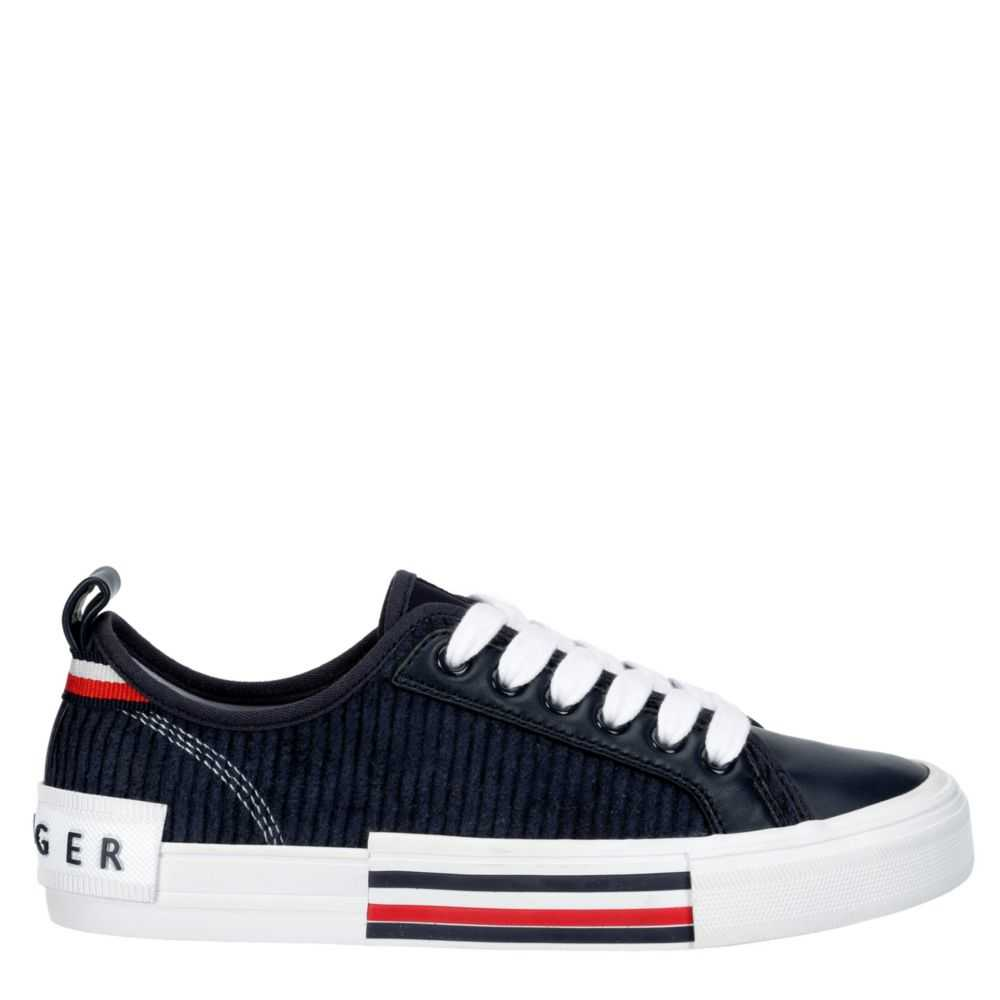 Tommy Hilfiger Womens Twhopper2 Shoes Sneakers Navy USA - GOOFASH - Womens SNEAKER