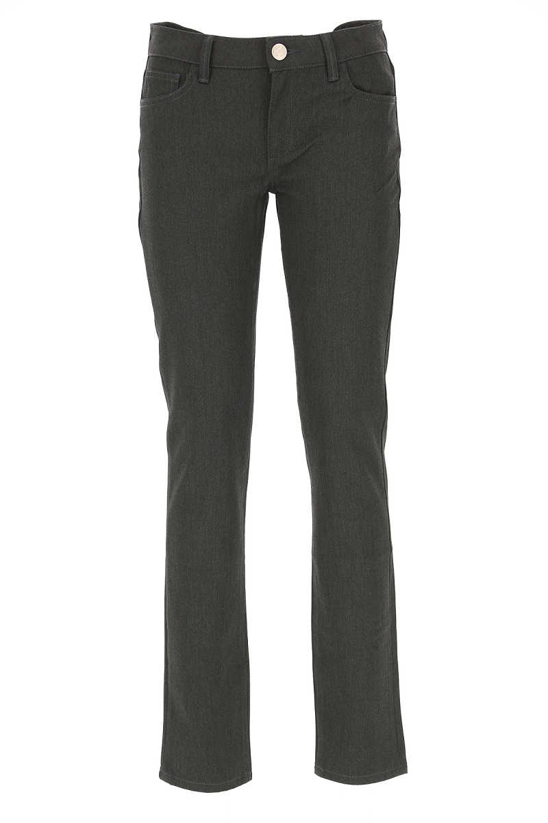 Trussardi Pants for Women On Sale in Outlet Grey - GOOFASH