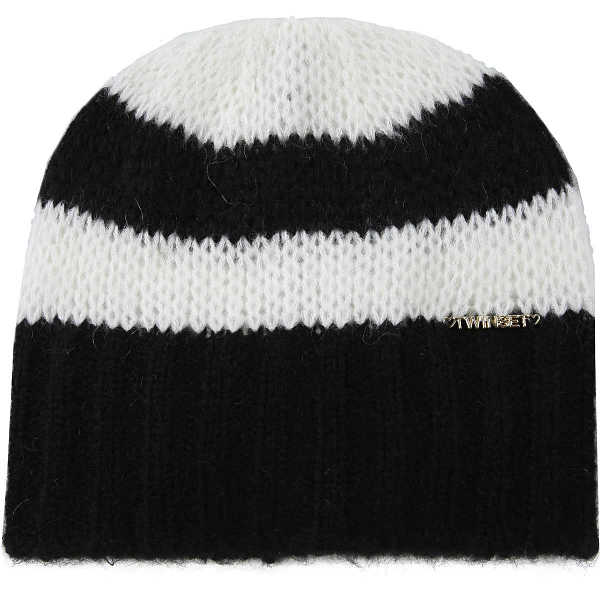 Twin Set by Simona Barbieri Kids Hats for Girls Black USA - GOOFASH