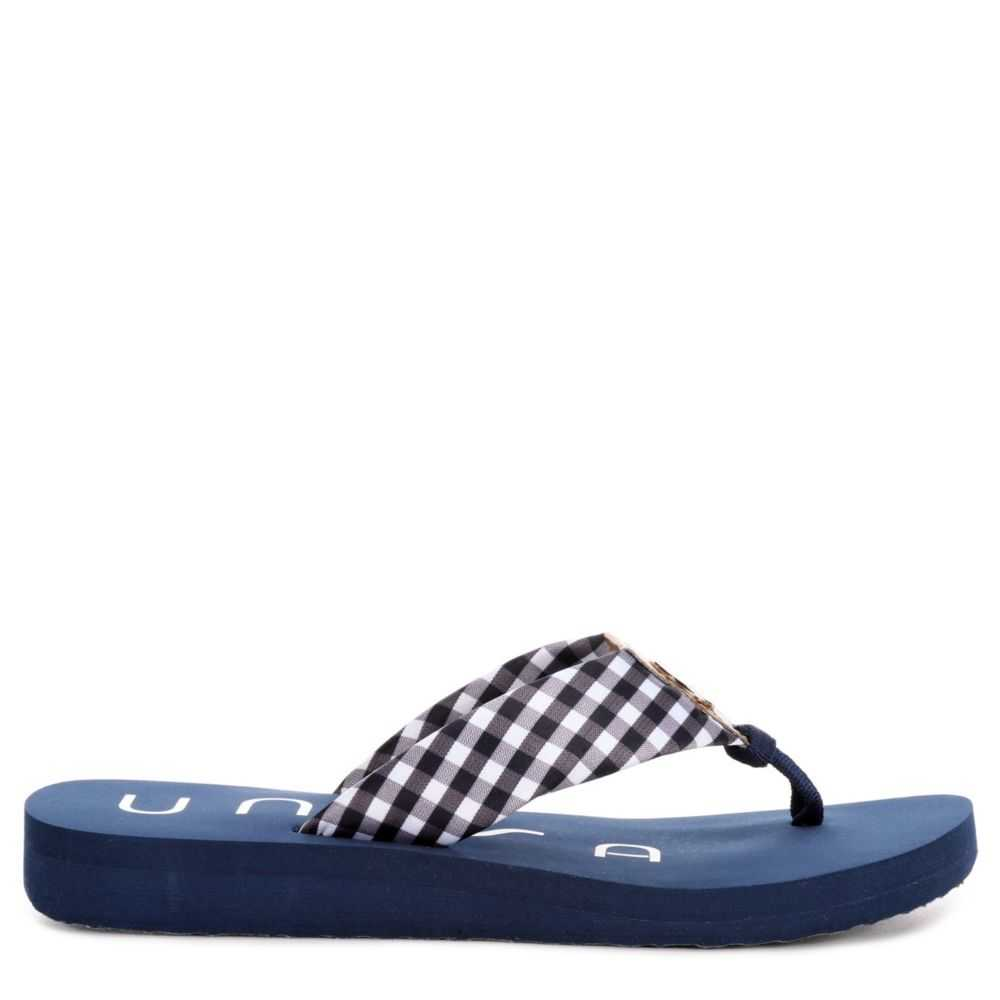Unisa Womens Fifi Flip Flop Navy USA - GOOFASH - Womens SLIPPERS