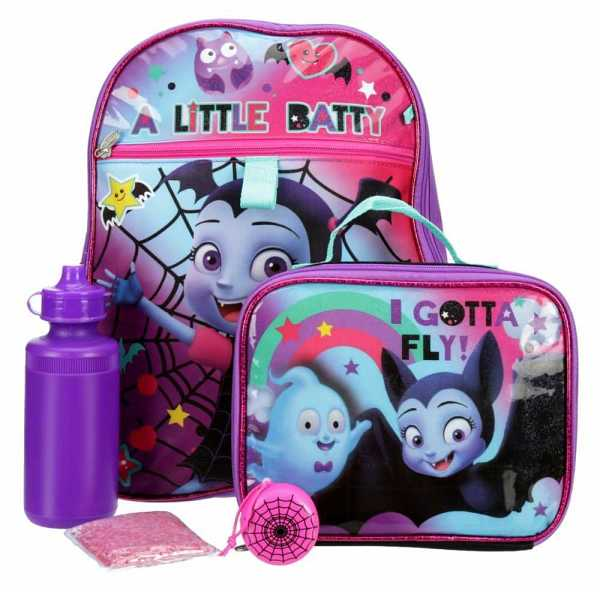 Vampirina Girls Backpack Multicolor USA - GOOFASH - Womens WALLETS