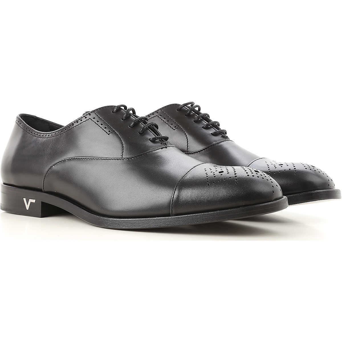 Versace Lace Up Shoes for Men Oxfords 7 8.5 9 9.25 Derbies and Brogues On Sale UK - GOOFASH