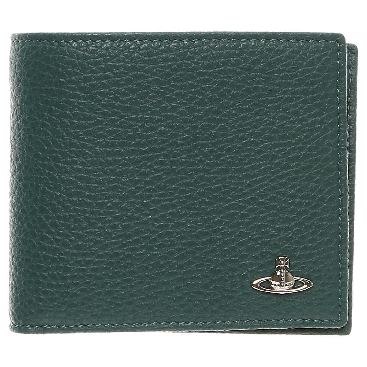 Vivienne Westwood Wallet for Men On Sale Dark Green - GOOFASH