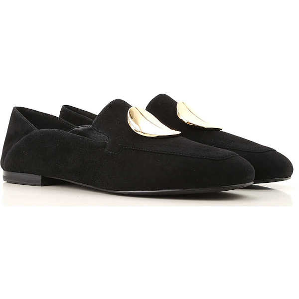 What For Loafers for Women Black - GOOFASH