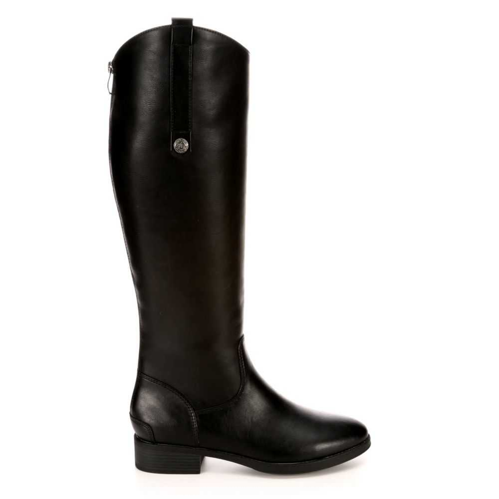 Xappeal Womens Emery Riding Boots Black USA - GOOFASH - Womens BOOTS