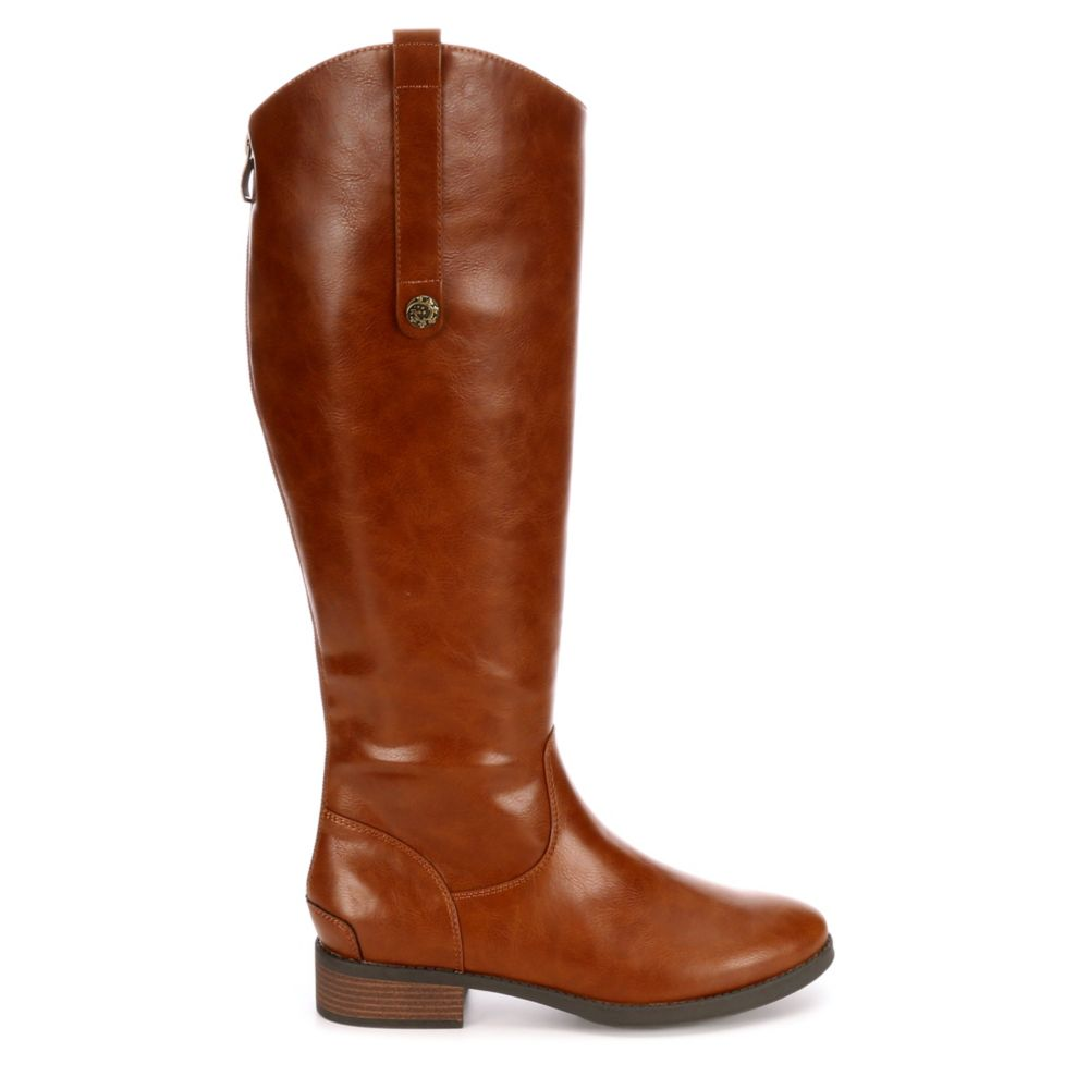 Xappeal Womens Emery Riding Boots Brown USA - GOOFASH - Womens BOOTS