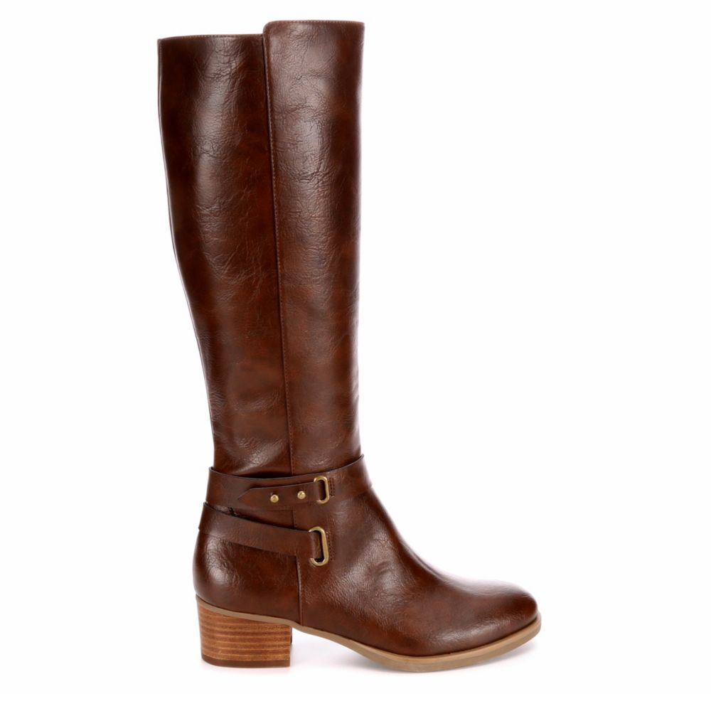 Xappeal Womens Marilyn Riding Boots Dark Brown USA - GOOFASH - Womens BOOTS