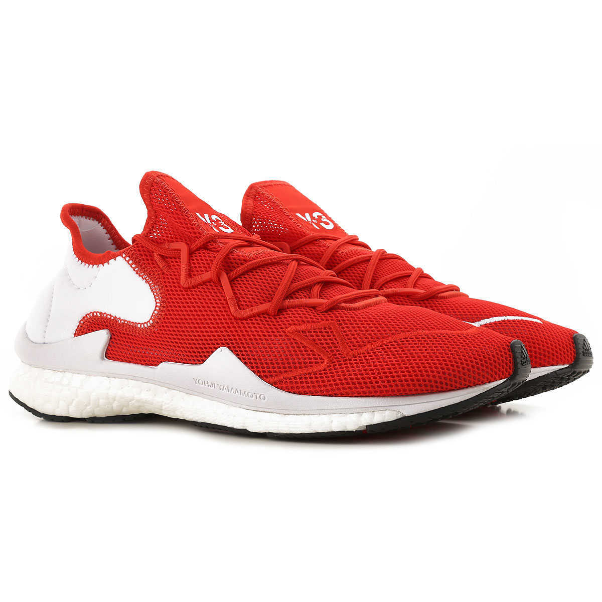 Y3 by Yohji Yamamoto Sneakers for Men On Sale Red - GOOFASH