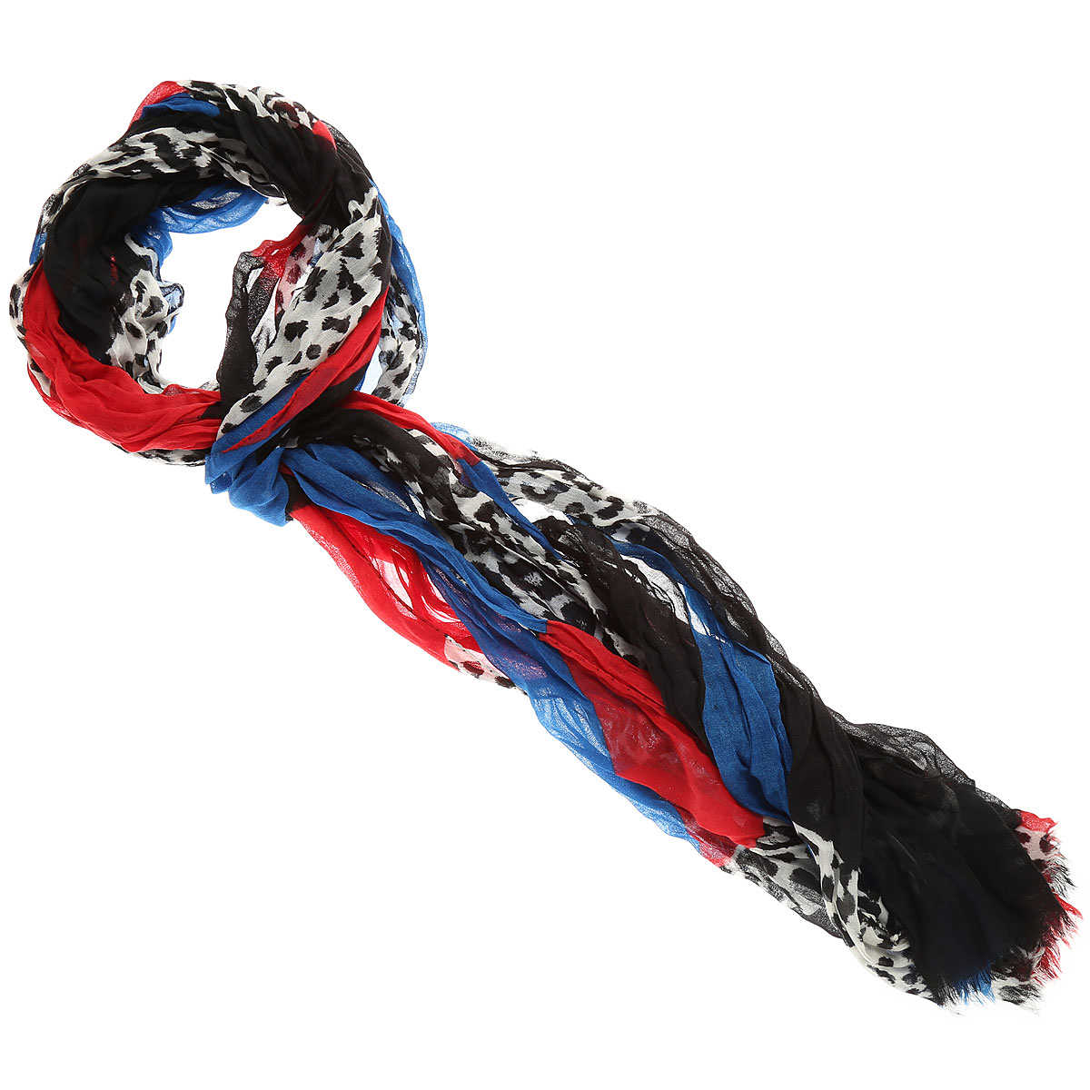 Yves Saint Laurent Scarf for Women On Sale in Outlet Black - GOOFASH