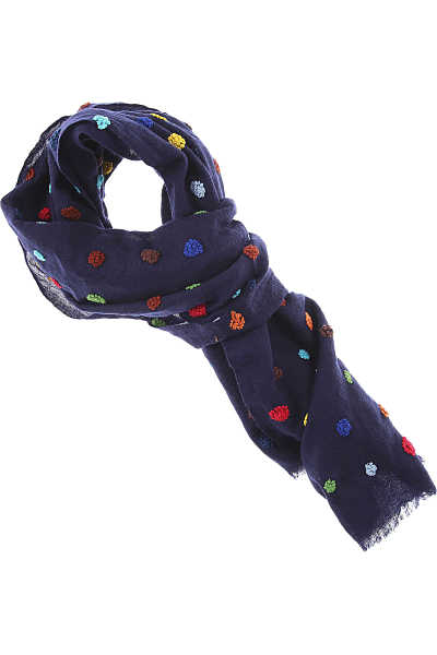032c Scarf for Women Blue Ink UK - GOOFASH