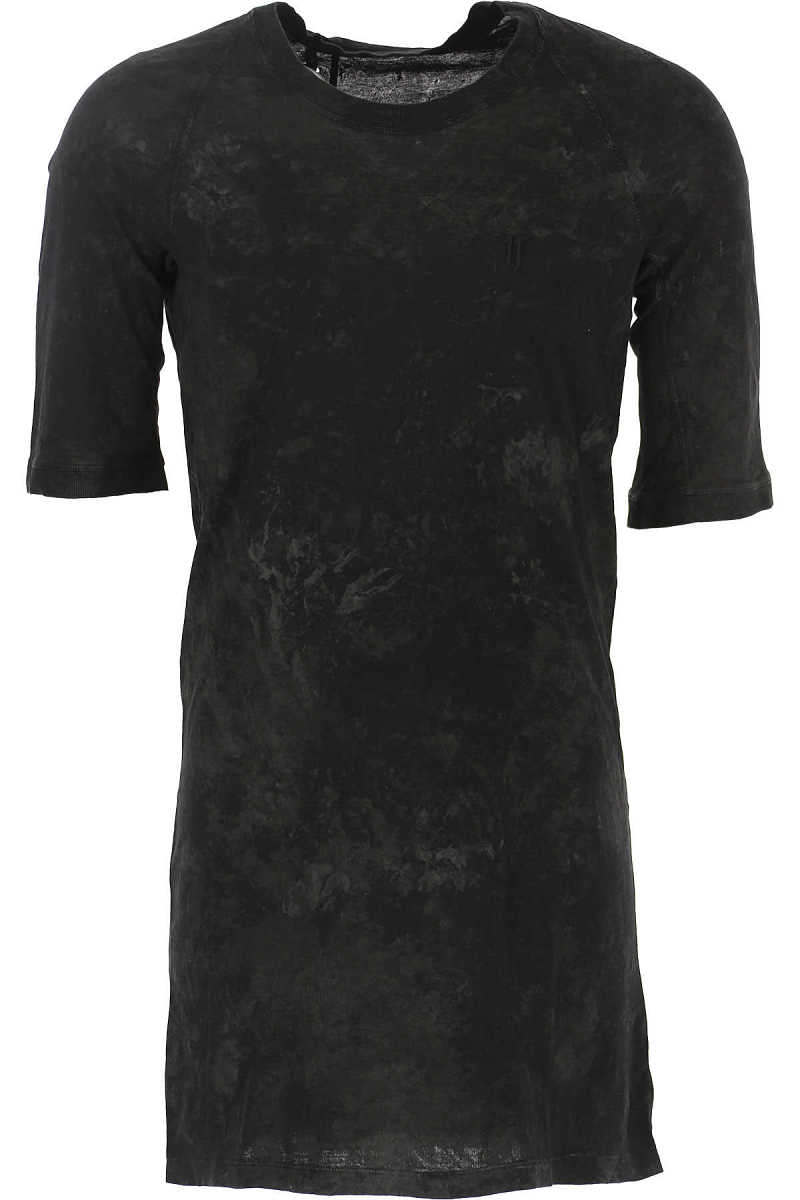 11 BY BORIS BIDJAN SABERI T-Shirt for Men On Sale Black - GOOFASH