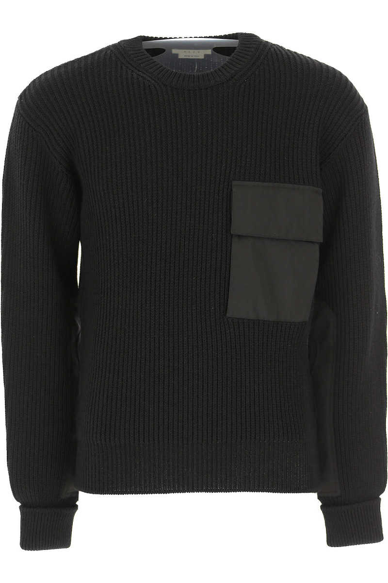 ALYX Sweater for Men Jumper On Sale in Outlet Black UK - GOOFASH - Mens SWEATERS