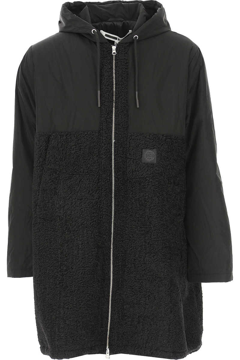 Alexander McQueen McQ Men's Coat Black UK - GOOFASH - Mens COATS