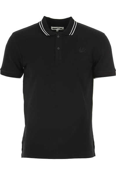 Alexander McQueen McQ Polo Shirt for Men Black UK - GOOFASH - Mens POLOSHIRTS