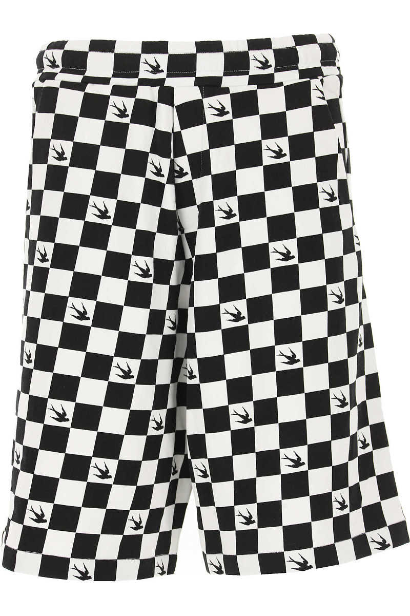 Alexander McQueen McQ Shorts for Men On Sale in Outlet White - GOOFASH