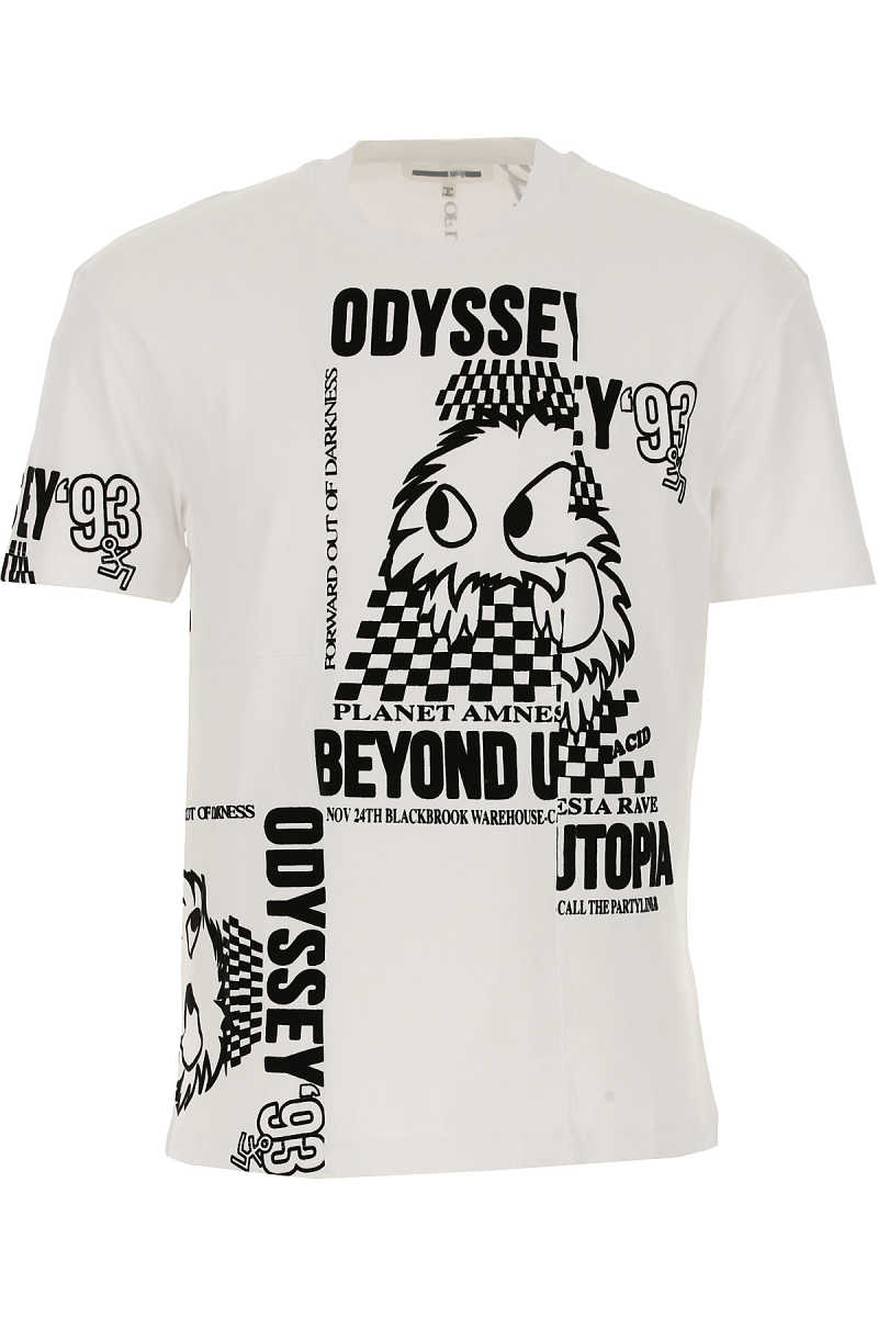 Alexander McQueen McQ T-Shirt for Men On Sale in Outlet Odyssey 93 - GOOFASH