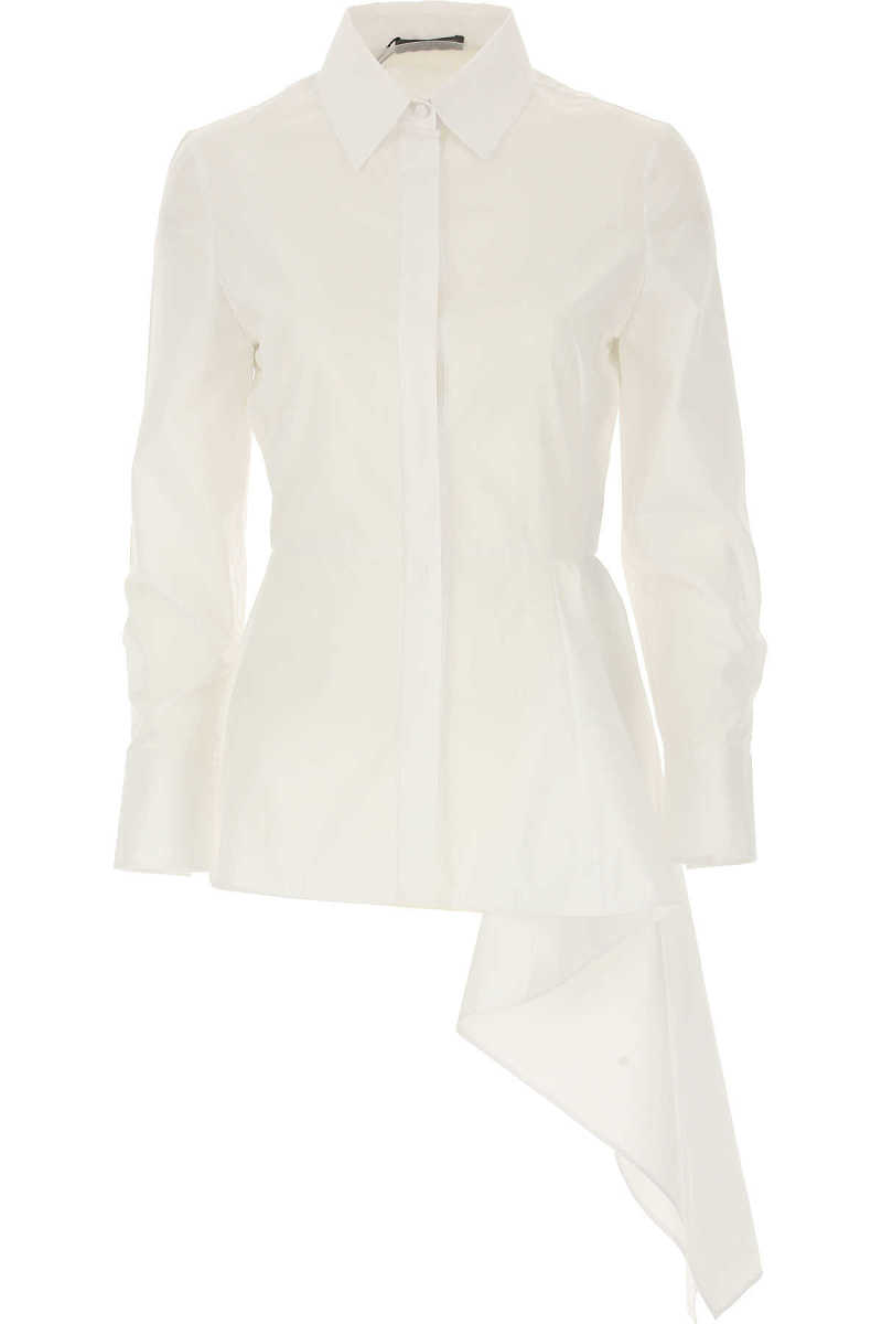 Alexander McQueen Shirt for Women On Sale in Outlet White UK - GOOFASH