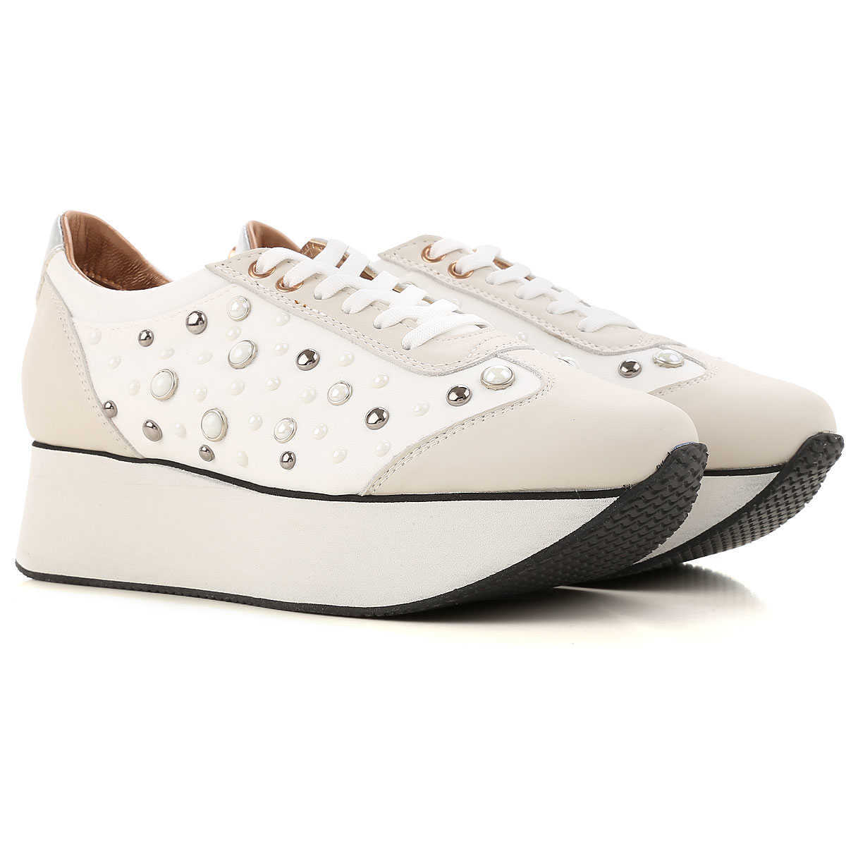 Alexander Smith Sneakers for Women On Sale in Outlet White UK - GOOFASH