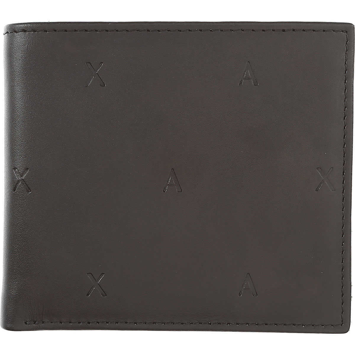Armani Exchange Wallet for Men Black UK - GOOFASH